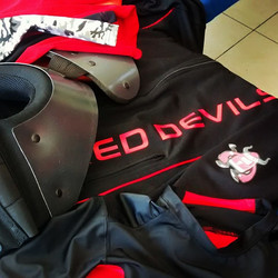 WFL RED DEVILS JERSEY