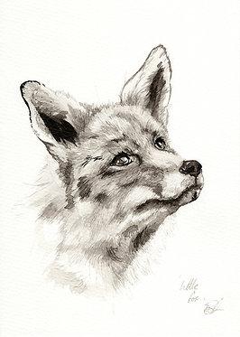 'Little Fox' Original Artwork