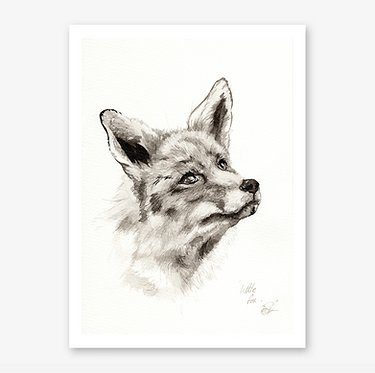 'Little Fox' Print