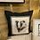 Thumbnail: Badger linen cushion