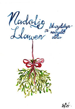 Nadolig Llawen (Pack of 10 Christmas Cards)