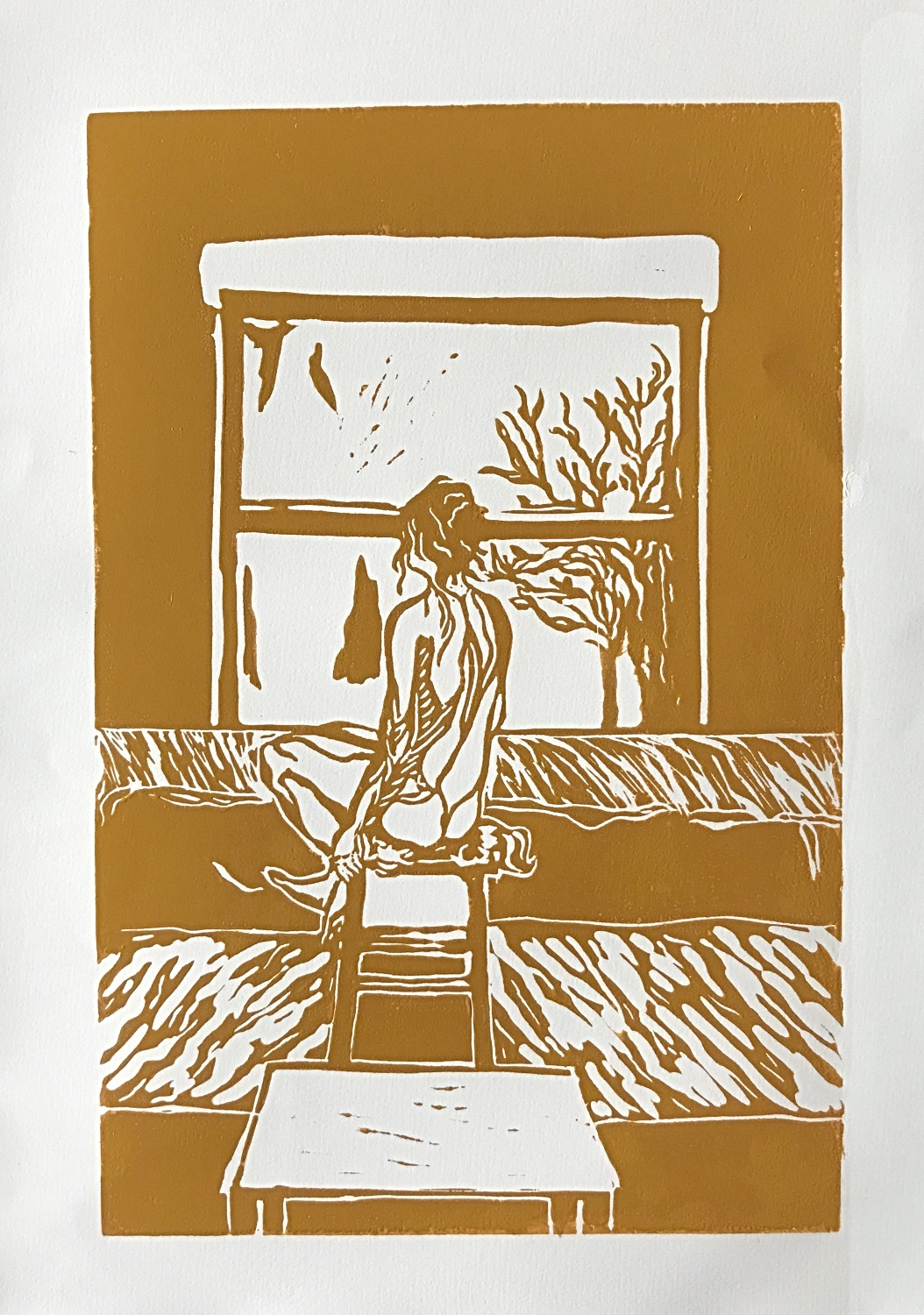 'Window to The World' (Yellow Ochre)