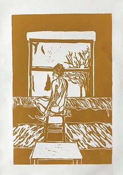 'Window to The World' (Yellow Ochre)