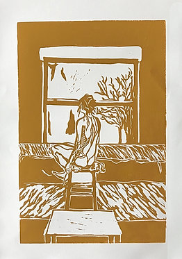 'Window to The World' (Ochre)