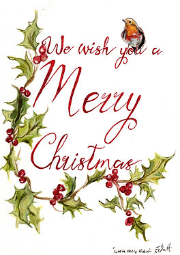 We Wish You a Merry Christmas (Pack of 10 Christmas Cards)