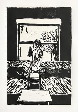'Window to The World' (Black)