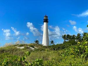 Egmont Key Lighthouse in Florida.