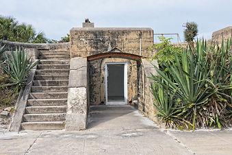 Egmont Key Gun Battery in Florida.