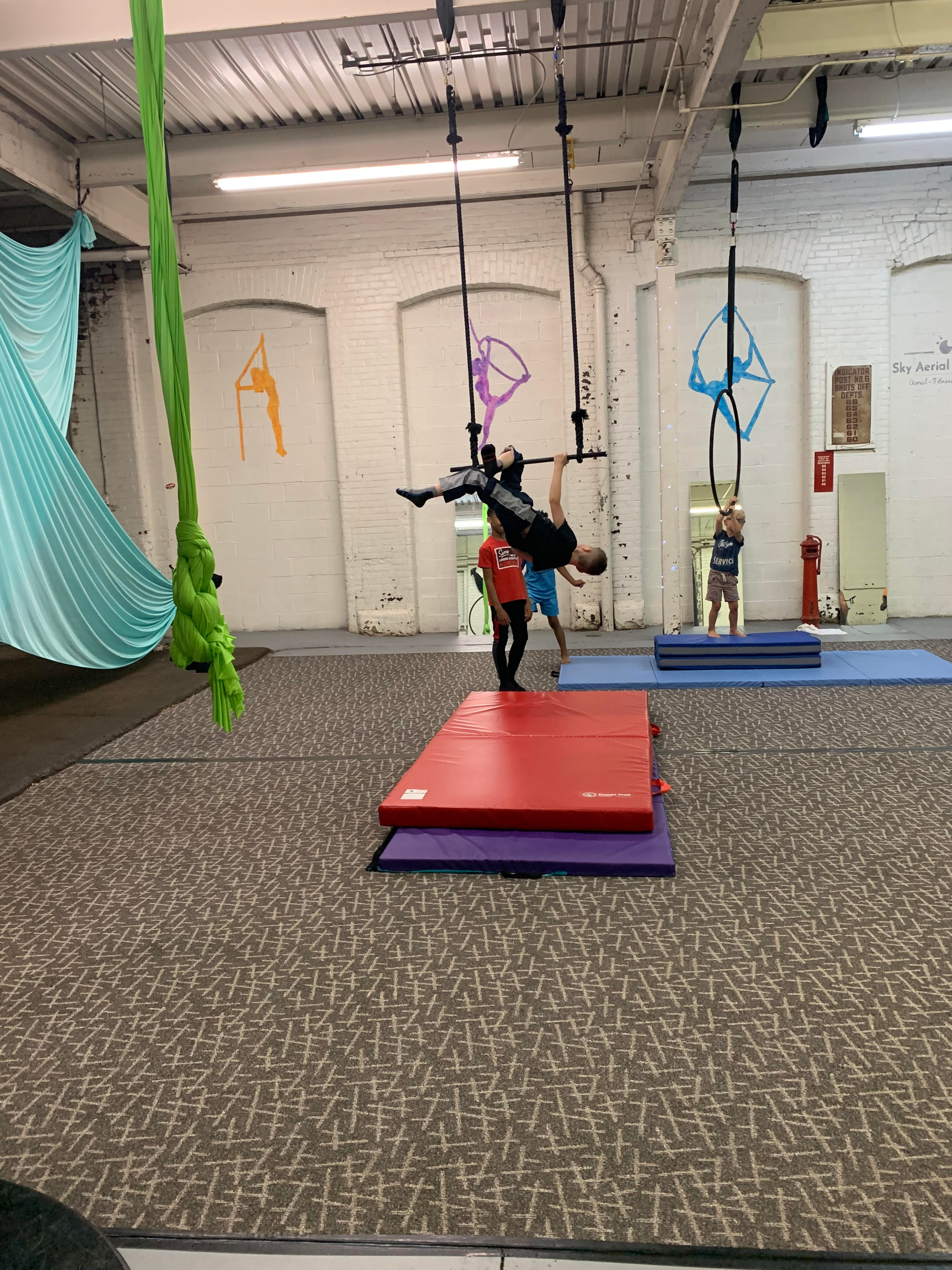 Kids Half-Day Circus Camp