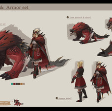 Monster Hunter concept study