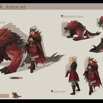Monster Hunter concept study
