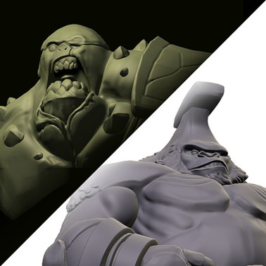 3D works