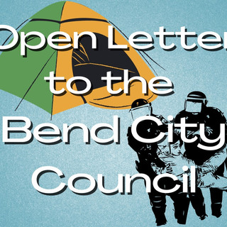 Open Letter to Bend City Council