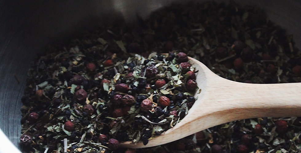 Autumn Equinox Herbal Tea
