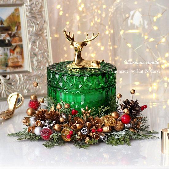 聖誕花環X大豆蠟燭工作坊