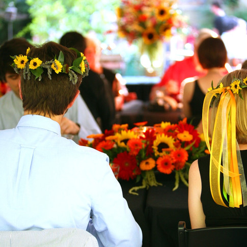crowns for the bride AND groom