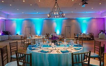Riverview Entertainment Turquoise Up Lighting