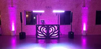 Riverview Entertainment Clayton Set Up Pink LED