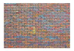 Riverview Entertainment Rainbow Brick Back Drop