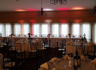 Riverview Entertainment Head Table Up Lighting