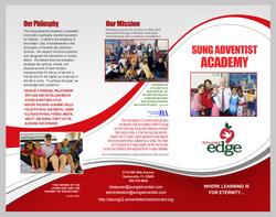 Brochure for Sung Adventist Academy
