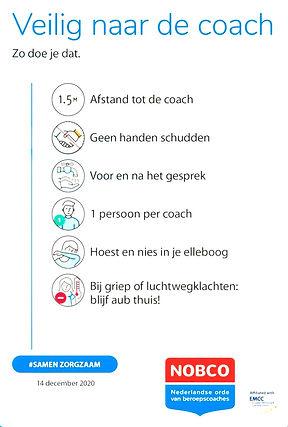 Veilig naar de coach
