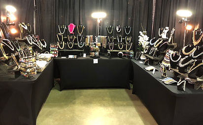 Couture Jewelry Display