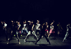 Choreographed Dance Routine On Stage