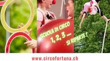 1, 2, 3... si riparte con la scuola di circo stagione 2021-2022