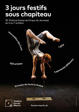 "10° ""Festival Suisse de Cirque de Jeunesse"" a Ginevra - Meyren"