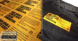 Tag/Polyester Sublimada c/ adesivo