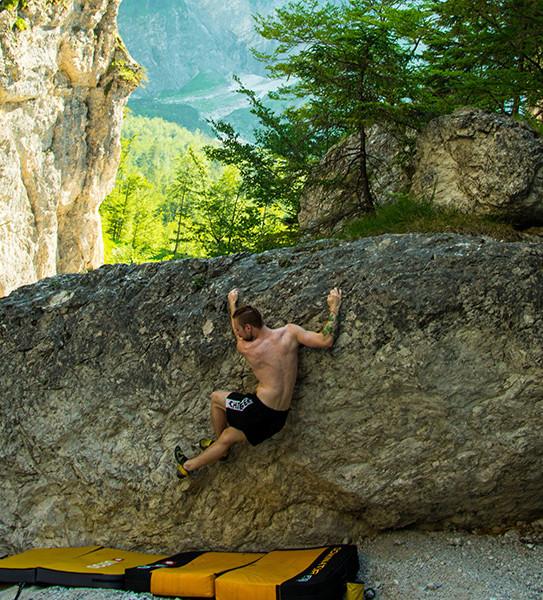 Bouldern im Almtalschluss