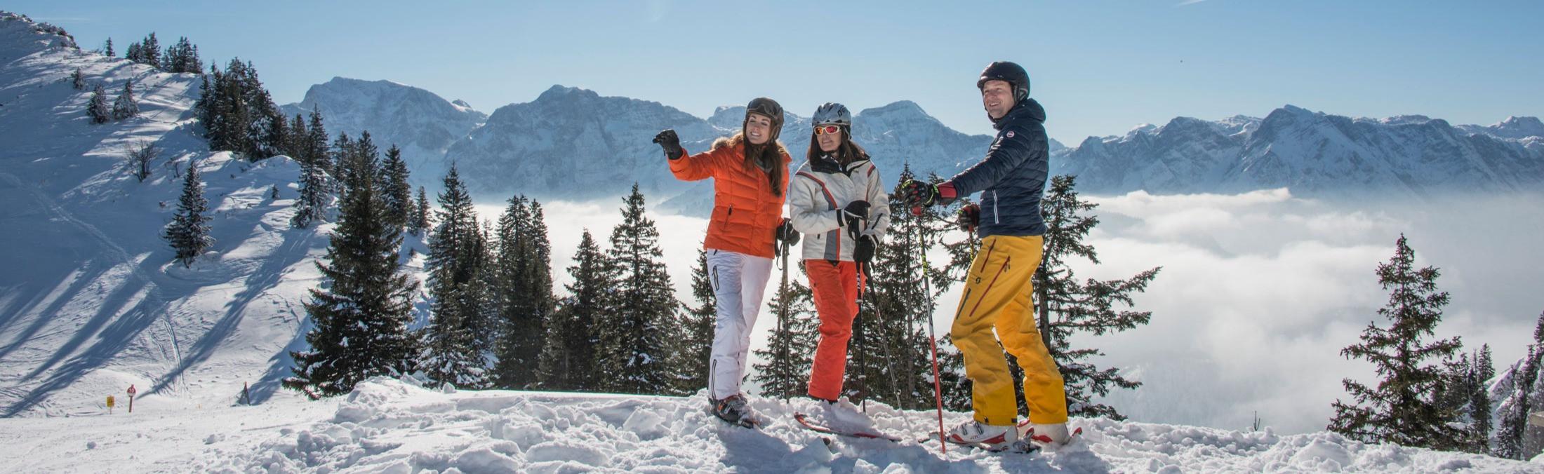 Familien-Skiurlaub pur am Kasberg