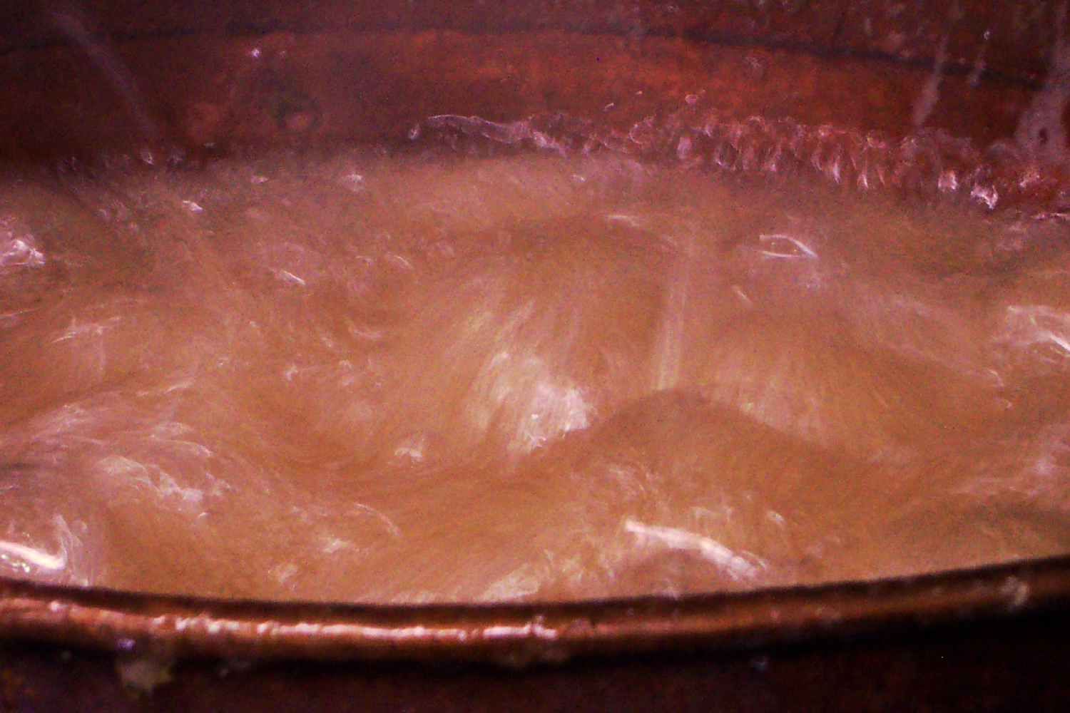 Boiling candy