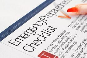Emergency Preparedness Checklist