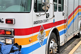 Anderson County HazMat Truck