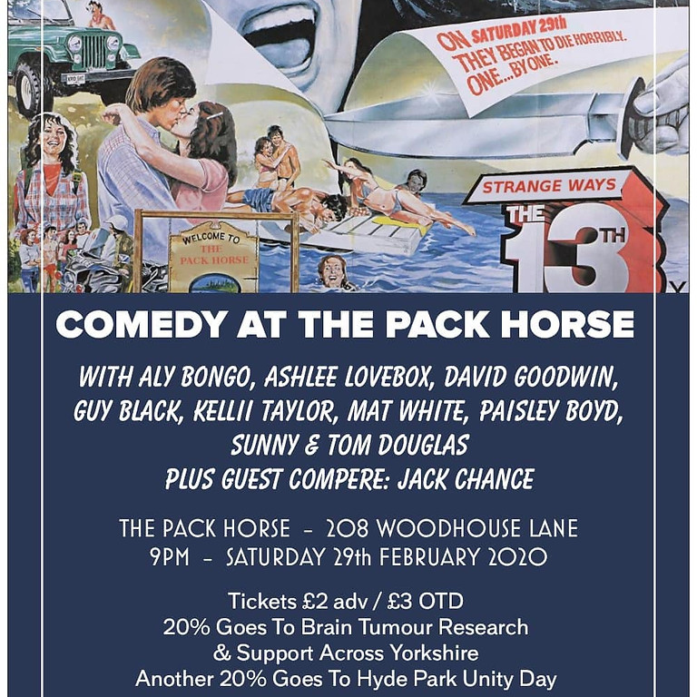 Comedy At The Pack Horse