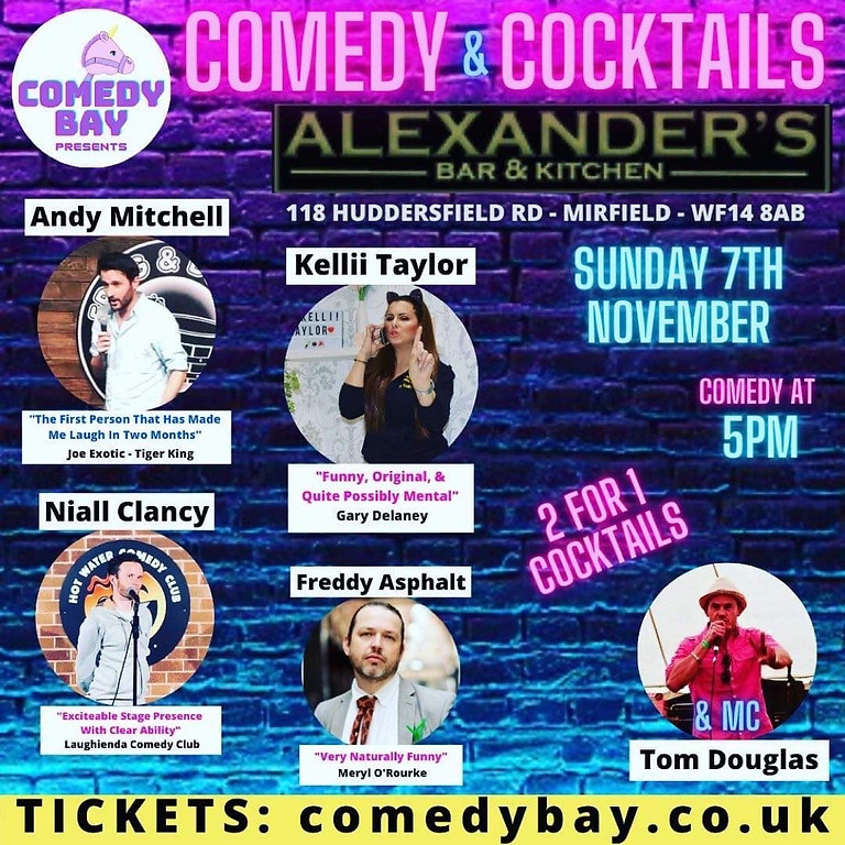 Comedy & Cocktails | Mirfield