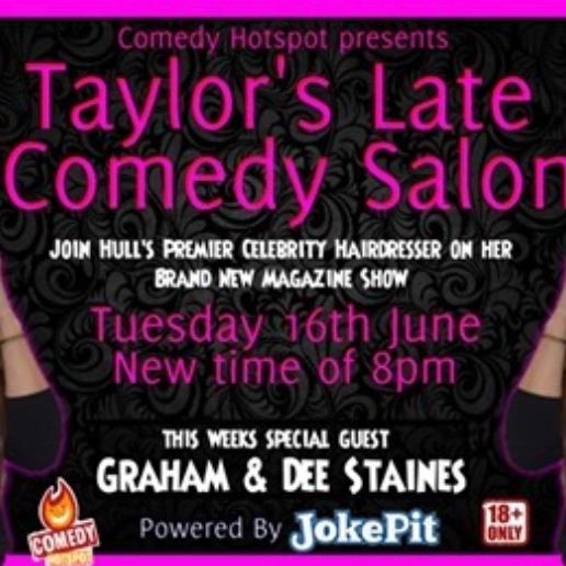 Kelli! Taylor's Late Night Comedy Salon