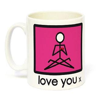 Yogastickmen® Love You Mug