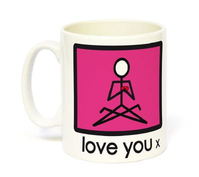 Yogastickmen Yoga Gifts  - Love You Mug