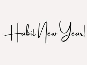 Habit New Year!