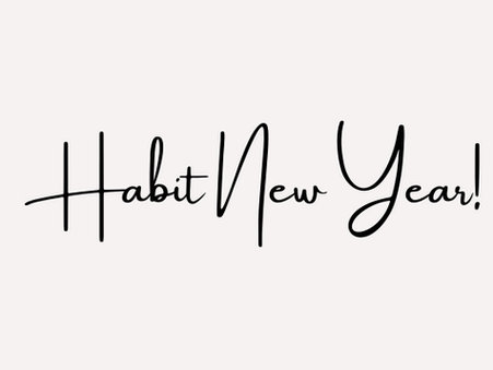 Habit New Year!