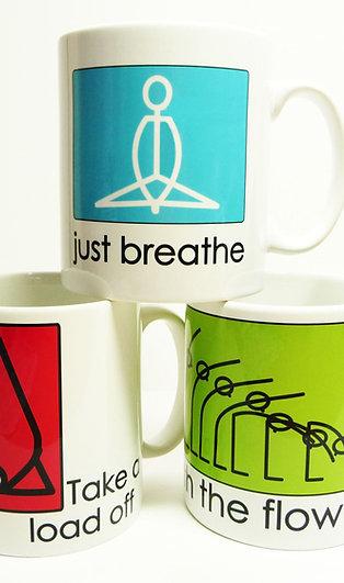 Yogastickmen® Yoga MUGS