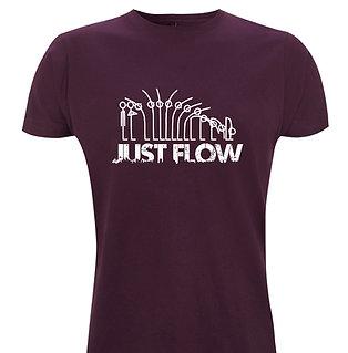 Yogastickmen® Just Flow Yoga T Shirt