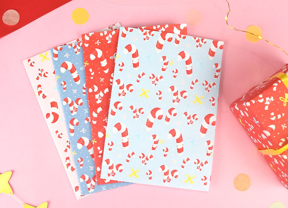 Wrapping Paper PACK Candy Canes