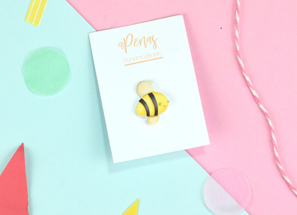 Handmade Bee SMALL Pin