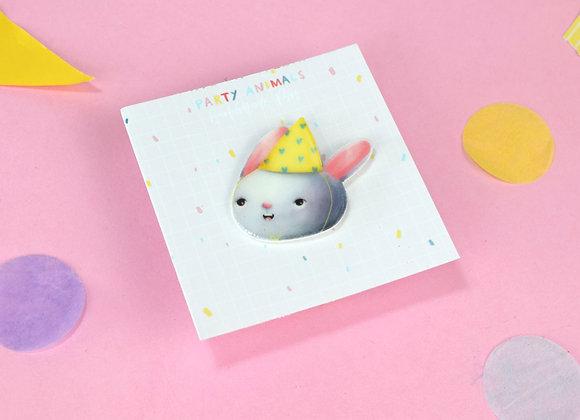 Party Bunny Pin
