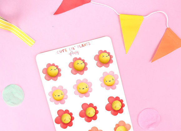 Flowers Sticker Sheet 02