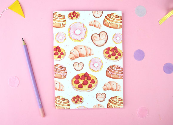 SECONDS Pastries notebook
